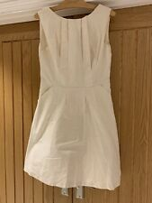 Reiss Cream Dress - Size 12