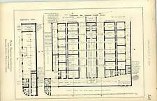 1891, Bury Markets Competition First Design Archibald Neil, Plan, Layout,