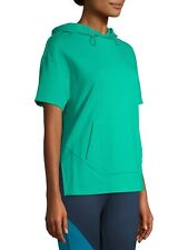 Avia - WOMENS SMALL - Active Performance - Short Sleeve Hoodie - Lime Green