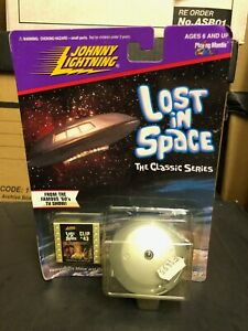 Boxed LOST IN SPACE Jupiter 2 Ship Johnny Lightning Diecast Model '96 Classic TV