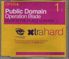 Public Domain-Operation Blade cd maxi single