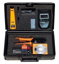 Microtest Microscanner Pro Cable Tester w Wiremap Adapter, Resource CD + Extras