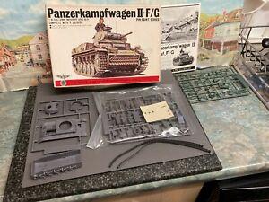 Bandai Panzerkampfwagen ii.F/G 1/48 scale