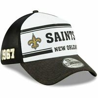 New Era 39Thirty New Orleans Saints NFL Football Cap Hat Men's M/L flex fit 1967