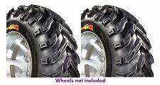 (2) NEW GBC 25X8-12 25X8X12 DIRT DEVIL FRONT ATV TIRES