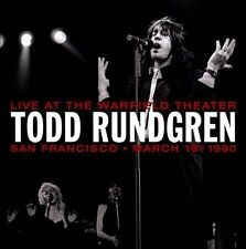 Live At The Warfield 10th March 1990 [Expanded Edition] by Todd Rundgren (CD, No