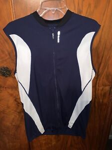 Sugoi Sleeveless Cycling/Triathlon Jersey Excellent Condition