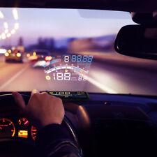 "5.5"" Car HUD Head Up Display OBDII OBD2 Plug Auto Gauge Dash Screen Projector F4"