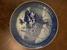 royal copenhagen 1967 Christmas Plate
