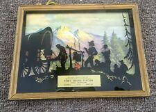 1940s-50s CHRYSLER & PLYMOUTH Dealer SILHOUETTE SIGN..Roundup, Montana