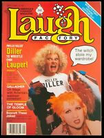 Laugh Factory Magazine: September 1985 Phyllis Diller Great Mag See Pics Please