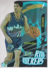 1997-98 ULTRA RIM ROCKERS DIE-CUT: JOHN STOCKTON #8 of 12 JAZZ 11x ALL-NBA TEAM