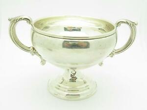 Pre-Owned Double Handle Vintage Empire Company Weighted Bowl Hand Made Gift