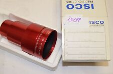 ISCO OPTIC Ultra Star HD Plus FL 50mm 35mm Cine Projection Lens Minty!