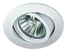 Rutec ALU55371 Einbaustrahler Einbauleuchte Einbauspot weiß schwenkbar rund