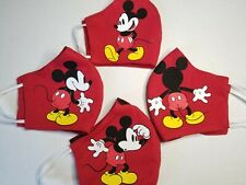 Mickey Mouse Adult Kids Face Mask Washable, Reusable, Different Pattern, Disney