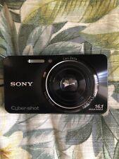 Sony Cyber-shot DSC-W570 16.1MP Digital Camera - Black