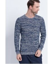 Tom Tailor Jersey de Hombre Denim Suéter de Punto Azul Talla XXL