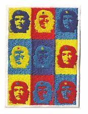 Ecusson patche Che Guevara Artwork thermocollant brodé patch
