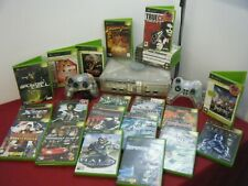 RETRO CRYSTAL XBOX BUNDLE CONSOLE 2 CONTROLLERS AND 24 GAMES