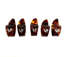 Planet Waves Thumb Picks  5 Pack  Large  Shell  For Guitar and Banjo
