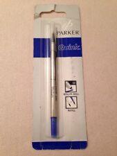 PARKER ROLLERBALL BLUE QUINK INK REFILL-MEDIUM POINT-UK-NEW OLD STOCK