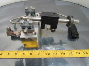 Nordson H400Q-2-T 1015607A Hot Melt Adhesive Gun w/Bracket 240V 280 Watts