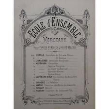 MASS Victor the wedding of Jeanette Opera Opening 2 Pianos 8 hands 1885 left
