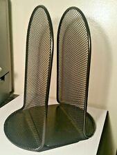 Standard Safco 3273Bl Steel Black Bookends