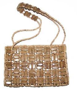 Wooden Fashion Handbag Handbags With Handle, Difficult Handmade Inspired Purse