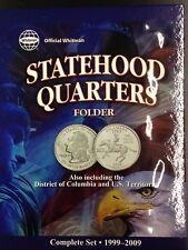 1999-2009 Statehood Quarters Folder (Holds 56 Coins)