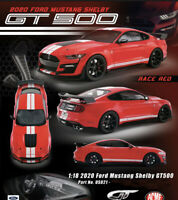 GT Spirit 1:18 FORD Mustang Shelby GT500 2020 Race Red Car Model Collection Car