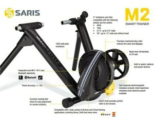 Saris CycleOps M2 Smart Bike Trainer - 9930T, Zwift Compatible. *USED ONLY TWICE