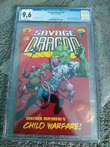 1ST INVINCIBLE PREVIEW SAVAGE DRAGON 102 CGC 9.6