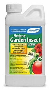 Monterey Garden Insect Spray Insecticide & Pesticide with Spinosad Concentrate
