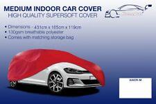 Medium Red Indoor Car Cover Protector Hyundai Equus/Centennial 1999-2016