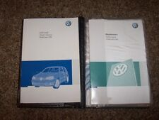 2008 Volkswagen VW City Golf Factory Owner Owner's User Guide Manual 2.0L 4 Cyl