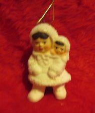 Christmas tree ornament eskimo artic kids Christmas/holiday decoration rubber