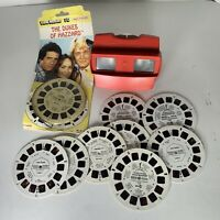 Vintage Red Viewmaster 3D View-Master Viewer With slides