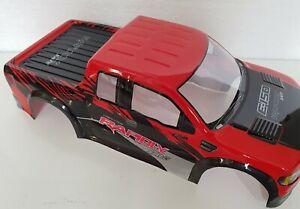 1/10 RC car 190mm on road drift Truck Body Shell Red/Black