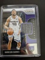 2019-20 PANINI PRIZM BASKETBALL SENSATIONAL SWATCHES HARRISON BARNES SS-HBR Mint