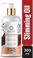 Botanicals Anti Cellulite Massage Oil for Slimming, Skin Toning, Firming-300mL