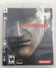 Metal Gear Solid 4: Guns of the Patriots (Sony PlayStation 3) FAST FREE SHIPPING