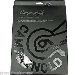 NEW 2021 CAMPAGNOLO ErgoPower ULTRA Shift Cable & Casings Set CG-ER600 BLACK