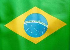 More details for huge 8ft x 5ft brazil flag extra large giant brazilian funeral coffin drapes