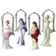 Royal Doulton Figuras Conjunto de 4 temporadas de invierno primavera VERANO OTOÑO en caja