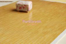 Dollhouse Miniature Flooring Woodstrip Floor Floor Paper 4 sheets OW029D