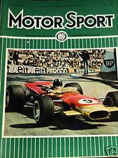 SPA FRANCORCHAMPS 1000KM 1968 JACK ICKX BRIAN REDMAN JW RACING GT40 PORSCHE 907