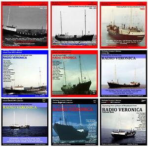 Pirate Radio Veronica Vols 1,2,3,4,5,6,7,8 & 9 (Free UK Shipping) Listen In Car
