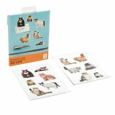 Mustard Fridge Magnetic Surface With These Fat & Fluffy Friends Fat cats 12 pcs